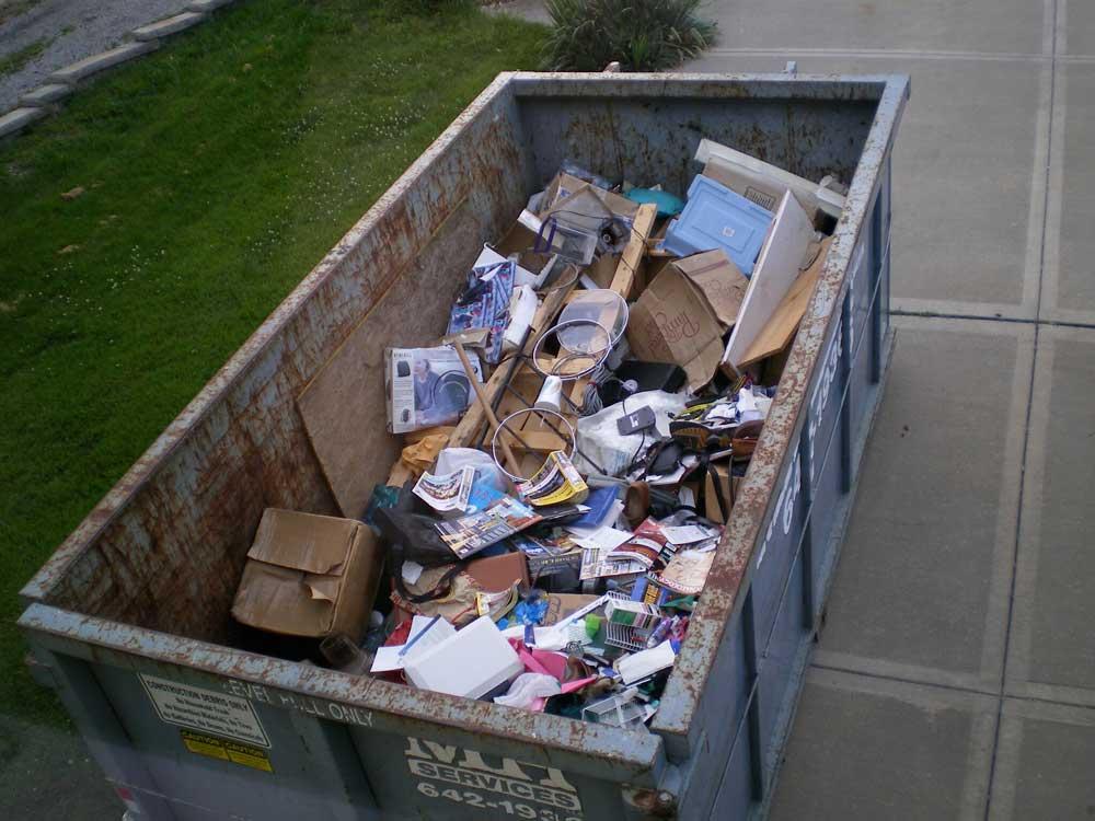 bennes à déchets